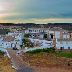 """El cerro de """"La Virgen"""" a vista de pájaro"""