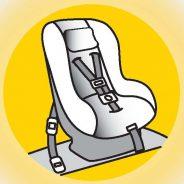 Uso cinturón y sistemas retención infantil