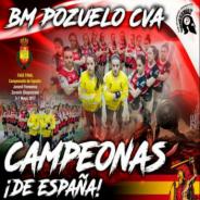 Nuestras Espartanas Campeonas de España