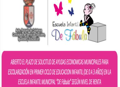 Ayudas Económicas Escuela Infantil