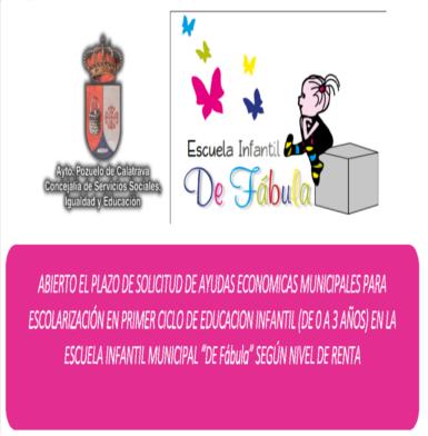 Ayudas econ micas escuela infantil pozuelo de calatrava - Escuela infantil pozuelo ...