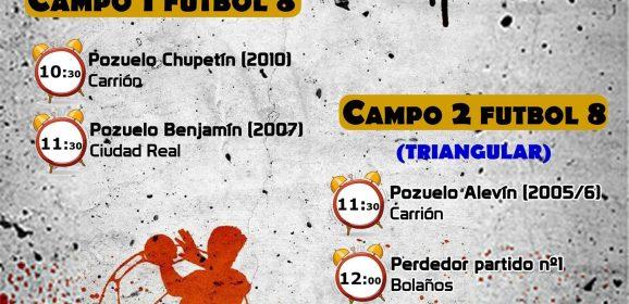 Amistosos Fútbol Escuelas Deportivas