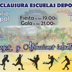 II Fiesta Clausura Escuelas Deportivas