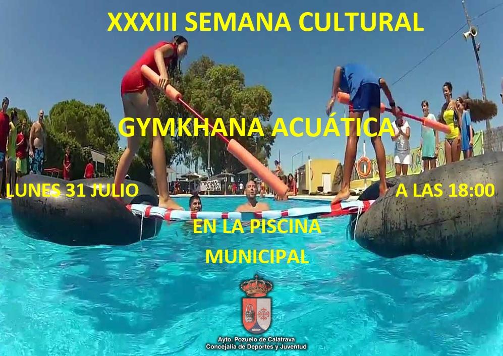Gymkhana acu tica pozuelo de calatrava for Piscina municipal pozuelo
