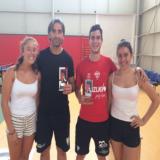 Ganadores Torneo Tenis de Mesa