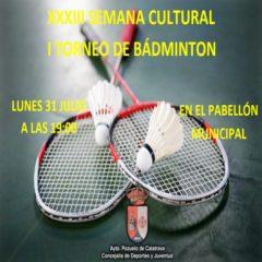 I Torneo de Bádminton