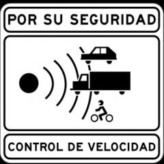 Campaña de control de velocidad