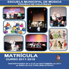 Matriculación en la Escuela Municipal de Música