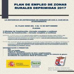Plan de Empleo Zonas Rurales Deprimidas