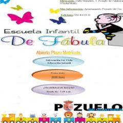 Plazo Matrícula Escuela Infantil