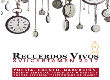 """XVII Certamen """"Recuerdos Vivos"""""""