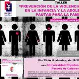 En Violencia de Género, prevenir es actuar…