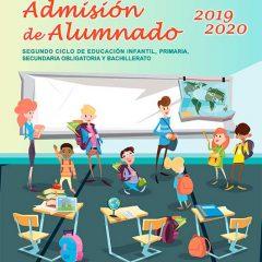 Abierto plazo de admisión de alumnado
