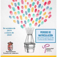 Universidad Popular: Curso 2019-2020