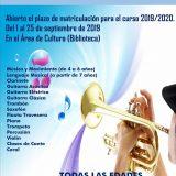 Escuela Municipal de Música Curso 2019-2020