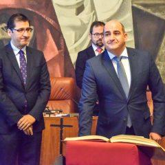 Toma de Posesión de Julián Triguero como Diputado Provincial