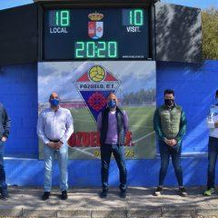 Marcador electrónico Campo de Fútbol